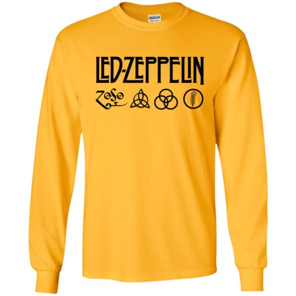 Harry Yellow Led Zeppelin 50th Anniversary