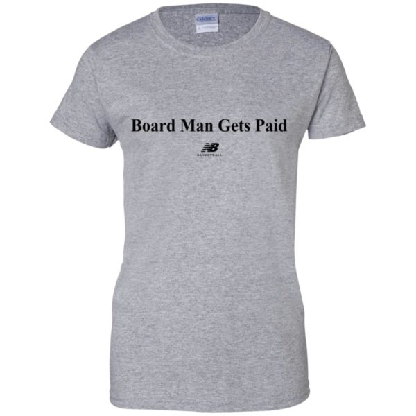 Board Man Gets Paid Basketball