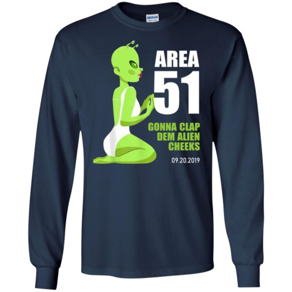 Area 51 Gonna Clap Dem Alien Cheeks Sexy Green Alien