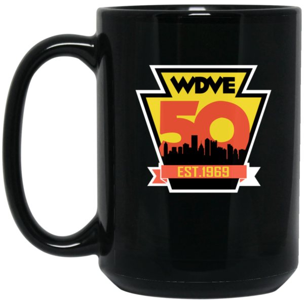 WDVE 50th Anniversary Commermerative Mug