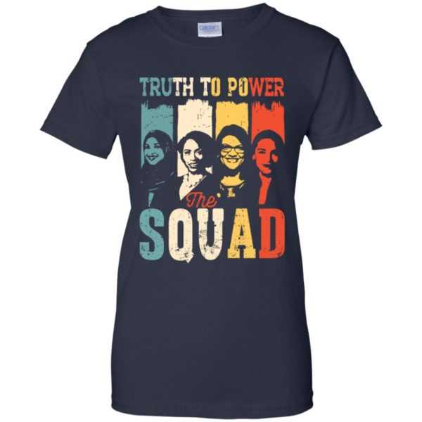 Truth To Power Squad AOC Tlaib Ilhan Ayanna Vintage