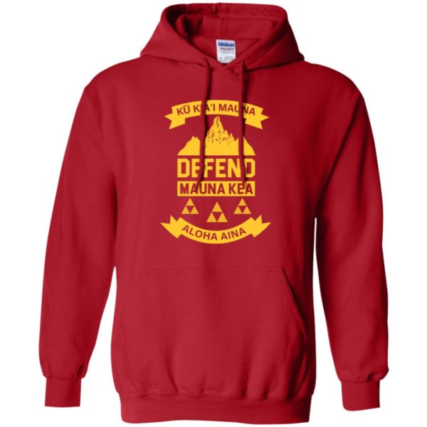 Ku Kiai Mauna Defend Ku Kiai Mauna Shirt, Long Sleeve T-Shirt