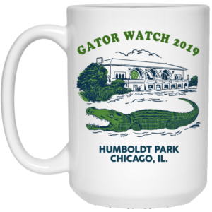 Gator Watch 2019 Humboldt Park Chicago IL Mug