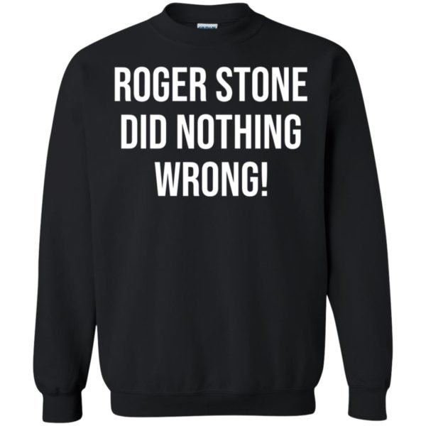 Roger Stone Did Nothing Wrong