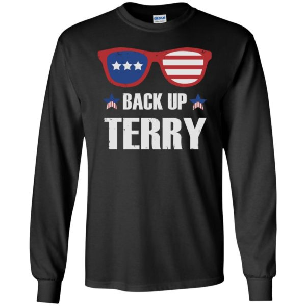 Back up Terry American Flag USA 4th Of July