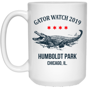 Gator Watch 2019 Humboldt Park Chicago Rad Lagoon Alligator Mug