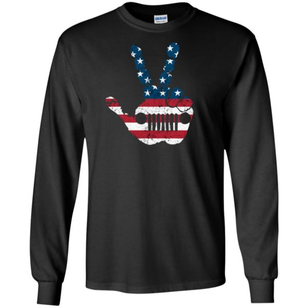Jeep Wave American Flag 4th Of July